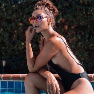 NWT! Sunny&Co Infamous Black Pamela Swimsuit